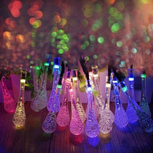 Load image into Gallery viewer, Dew Droplets 20 LED Solar Lights Falling Like Dew
