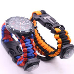 Para-cord Survival Bracelet - Going Off Grid