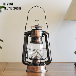 Bronze Oil Lamp - Going Off Grid