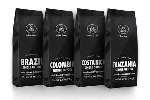 Single Origin Whole Bean Coffee Variety Pack (4 bags) - Going Off Grid