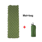 Air Mattress with pillow - Going Off Grid