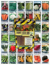 Load image into Gallery viewer, 22,000 Non GMO Heirloom Vegetable Seeds - Going Off Grid