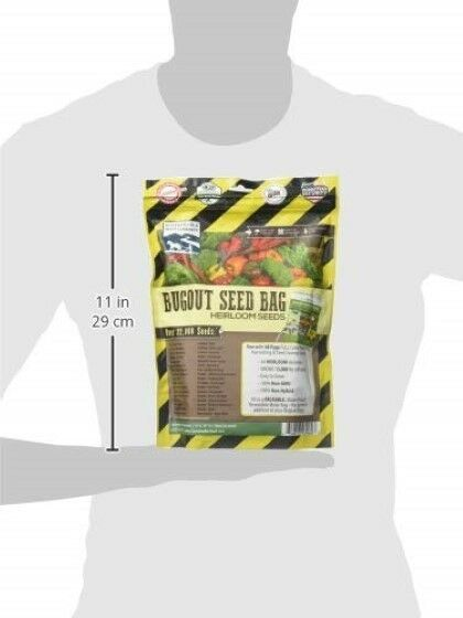 22,000 Non GMO Heirloom Vegetable Seeds - Going Off Grid