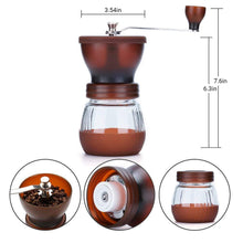 Load image into Gallery viewer, Manual Coffee Grinder with Conical Ceramic Burr - Going Off Grid