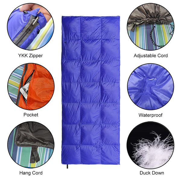 Camping Down Double Sleeping Bag