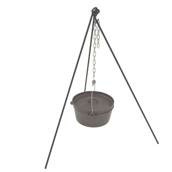 Tripod Stand with Chain - Going Off Grid