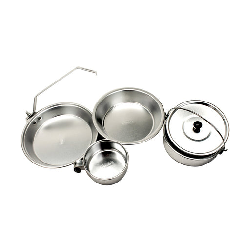 Coleman Aluminum Mess Kit - Going Off Grid
