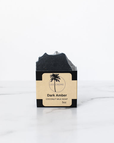 Dark Amber Coconut Milk Soap - Going Off Grid