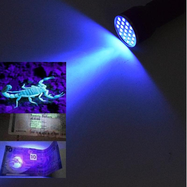 Ultra Violet Flashlight - Going Off Grid