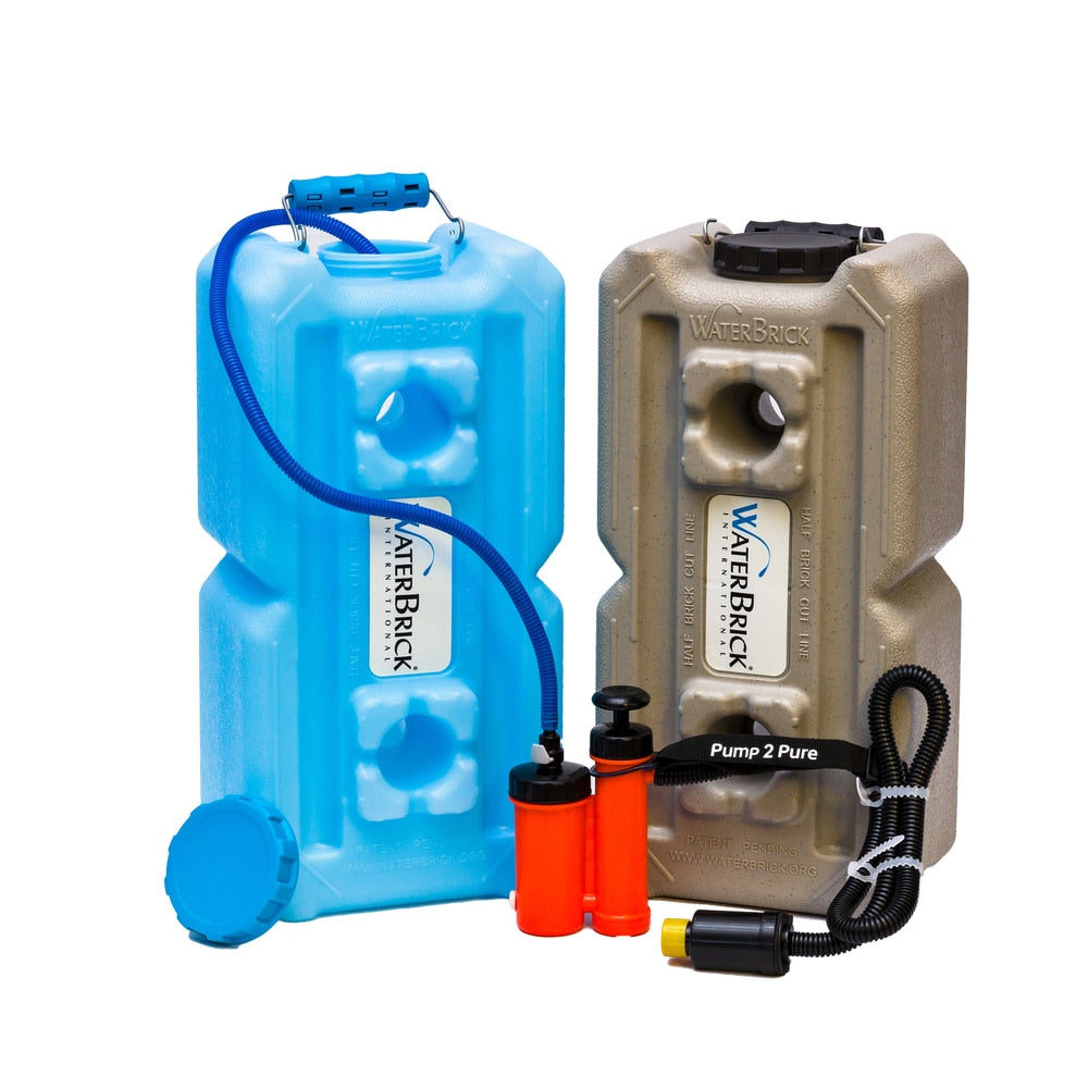WaterBrick/Seychelle Pump 2 Pure Pocket Pump Water Filtration System - Going Off Grid