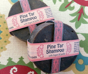 Pine Tar Shampoo Bar - Going Off Grid