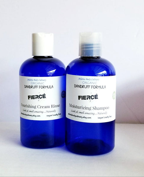 Organic Dandruff Shampoo and Conditioner - Going Off Grid