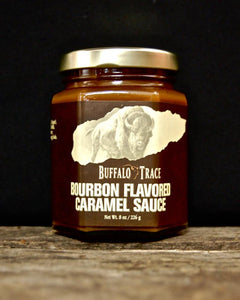 Buffalo Trace Bourbon Flavored Caramel Sauce - Going Off Grid