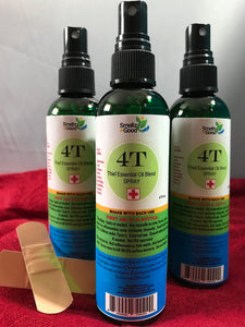 4T - Thief Essential Oil blend .  Your Germ & First Aid in a Bottle - Going Off Grid