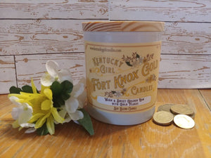 FORT KNOX GOLD-Golden Rum Candle - Going Off Grid