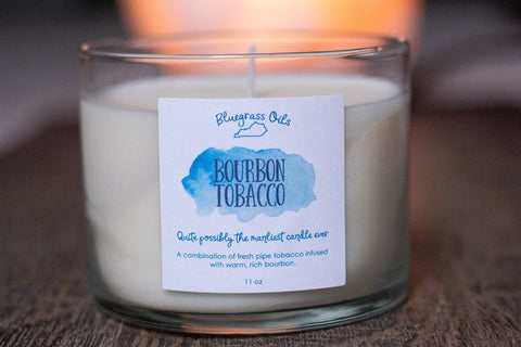 Soy Candle, Pipe Tobacco Candle - Going Off Grid