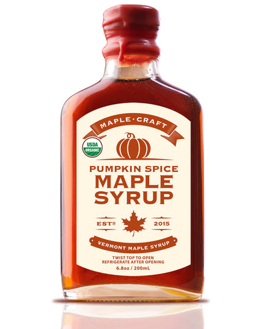 Maple Craft Pumpkin Spice Vermont Maple Syrup (Organic) - Going Off Grid