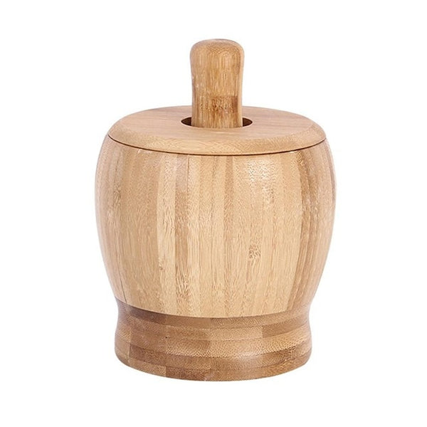 Wood Mortar And Pestle - Going Off Grid