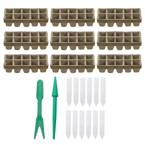 Biodegradable Seed Starter Peat Pots - Going Off Grid