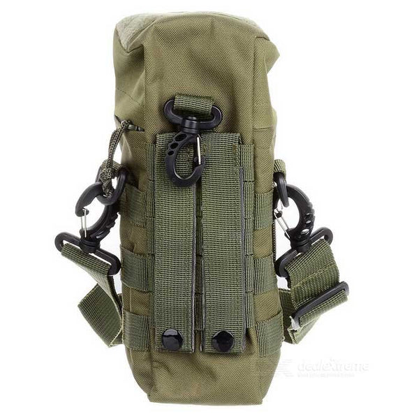 Outdoor Sports 600D Oxford Nylon Water Bottle Bag - Army Green/Khaki/Black - Going Off Grid