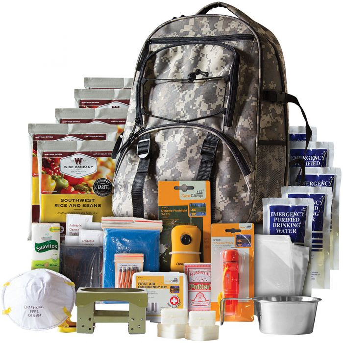 Five Day Survival Backpack