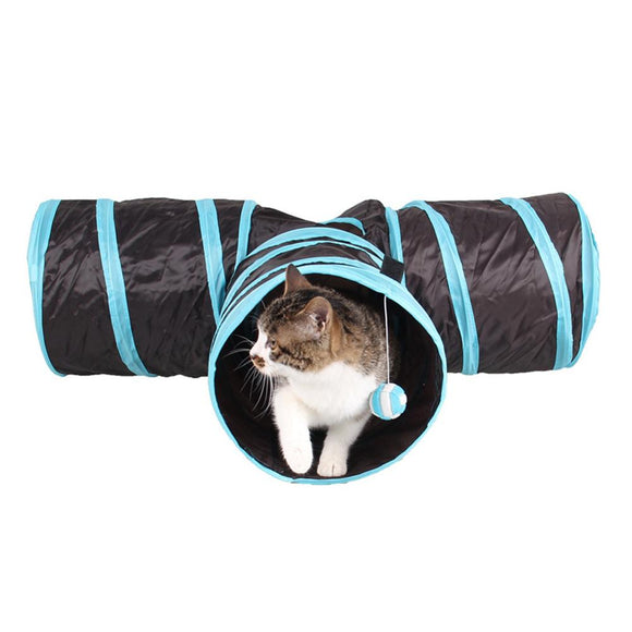 3 Hole Cat Tunnel Tubes