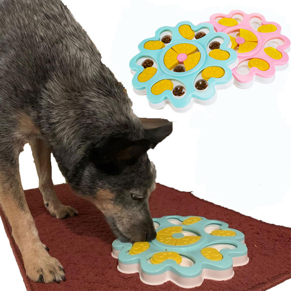 Interactive Dog Puzzle Toy Treat Dispenser
