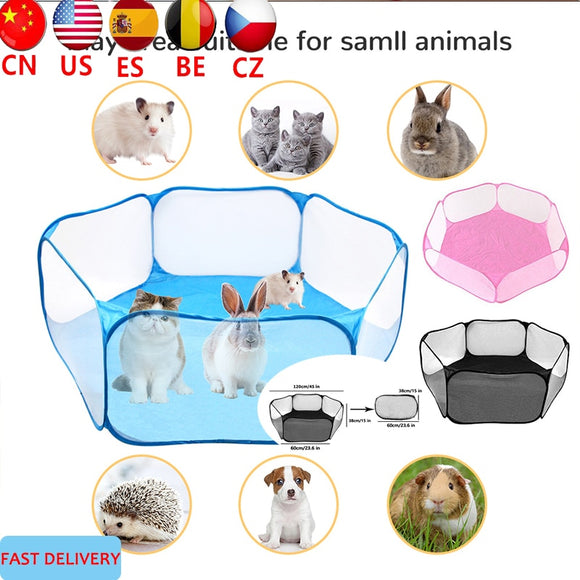 Portable Small Animal Playpen