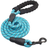 Strong Reflective Leash With Padded Handle Medium Or Large Dogs