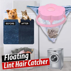 Floating lint /Paper towel and pet fur Catcher