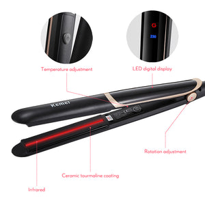 Perfect Straight Smooth Brilliance Ceramic Flat Iron