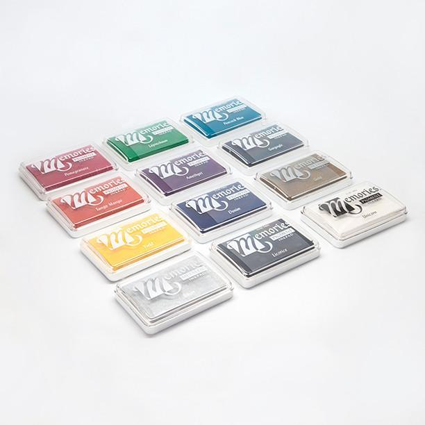 Bantam Tools offers a variety of stamp pad colors.