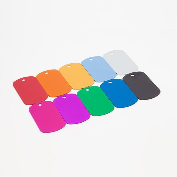 Bantam Tools offers a variety of anodized aluminum dog tags you can mill with your desktop CNC machine.