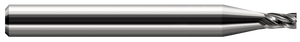 "This Harvey Tool square, 0.035"" 4-flute stub miniature end mill offers power and precision."