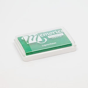 Green stamp pad for print making.