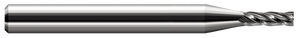 "This Harvey Tool 1/16"" 4-flute, square miniature end mill is excellent for detail work on your desktop CNC machine."