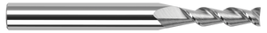 This Harvey Tool flat end mill features a two-flute, 45° high-helix design which produces excellent results in aluminum!