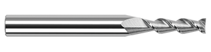 "This Harvey Tool 1/8"" High Helix Flat End Mill is perfect of machining aluminum on your Bantam Tools desktop CNC machine."
