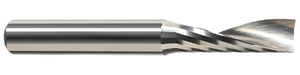 This Harvey Tool single-flute end mill is perfect for machining engineering plastics on your desktop CNC machine.