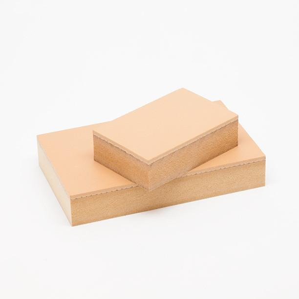 These linoleum blocks are perfect for milling prototypes and custom stamp pads on your desktop CNC machine.