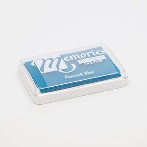 Light blue stamp pad for print making.