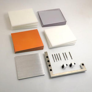 This prototyping deluxe bundle comes with must-have CNC tooling, Delrin, HDPE, Polycarbonate, FR-1, and a Precision Fixturing and Toe Clamp Set.