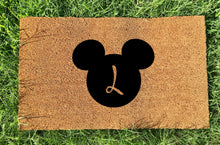 Load image into Gallery viewer, Personalized Mickey Initial Doormat