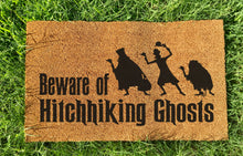 Load image into Gallery viewer, Hitchhiking ghosts doormat