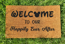 Load image into Gallery viewer, Happily ever after doormat