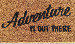Up balloon adventure doormat