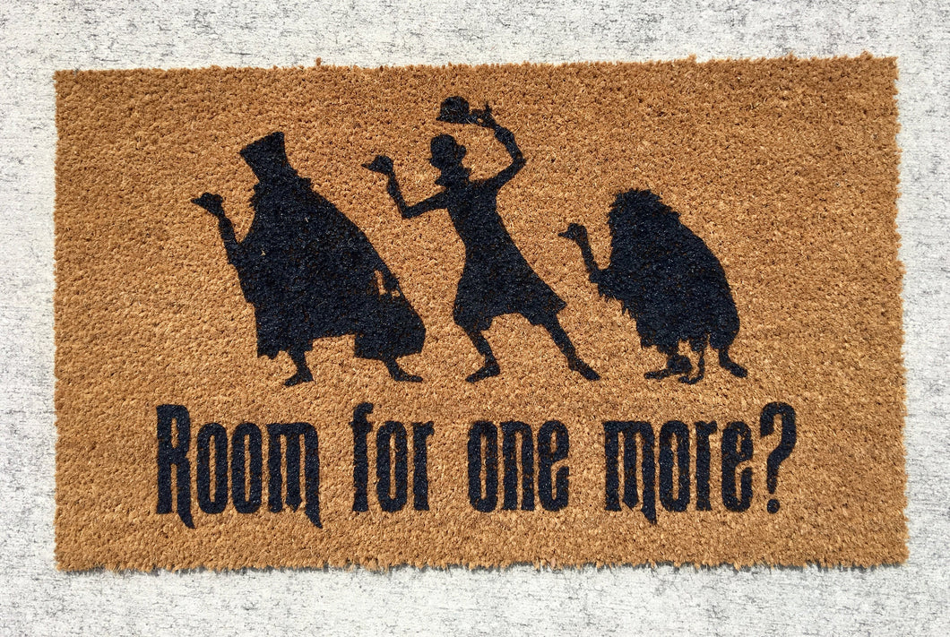 Hitchhiking ghosts doormat