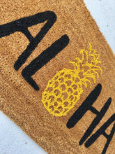 Load image into Gallery viewer, Aloha pineapple doormat