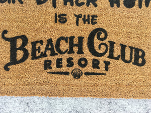 DVC Beach Club doormat