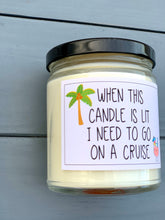 Load image into Gallery viewer, Cruise ship vacation candle